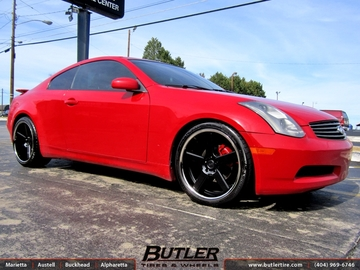Infiniti G35 with 20in Niche Nurburg Wheels
