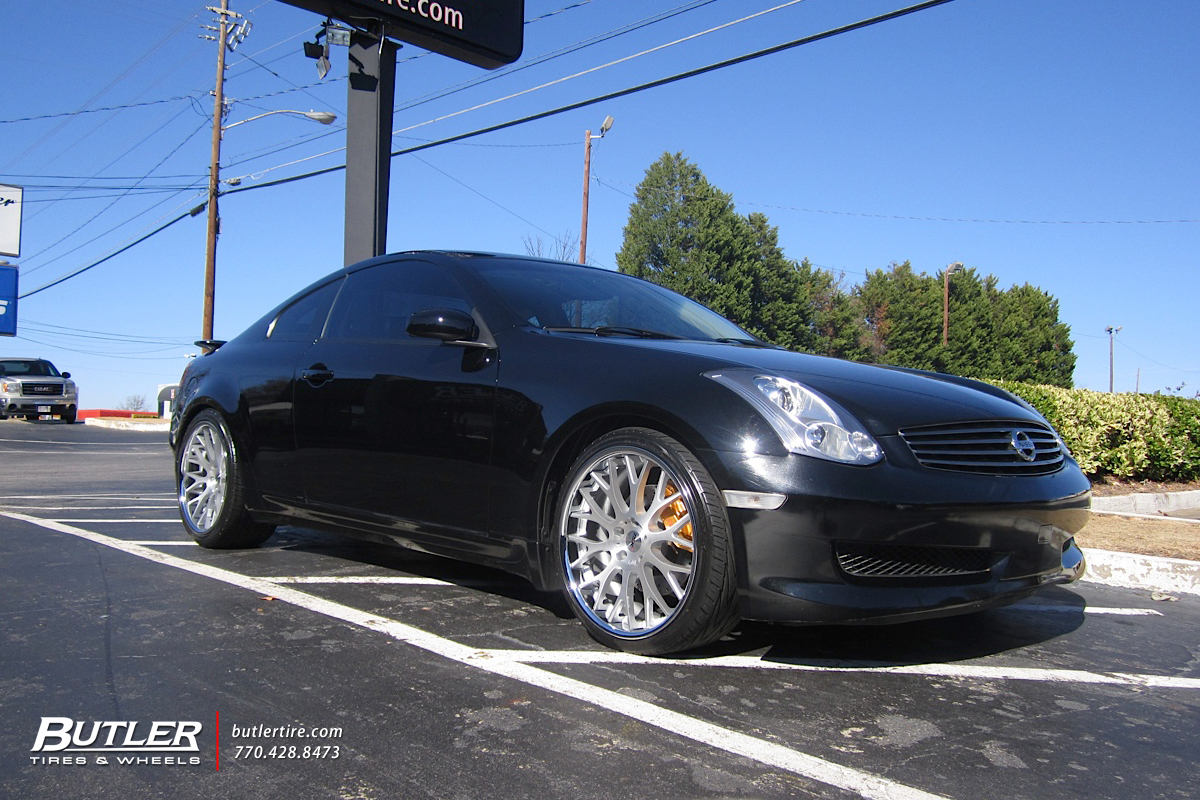 Infiniti G35 with 20in TSW Amaroo Wheels