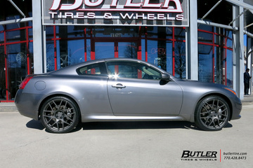 Infiniti G35 with 21in TSW Nurburgring Wheels