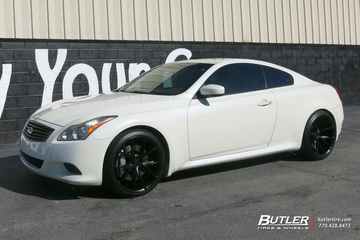 Infiniti G37 with 20in Niche Misano Wheels