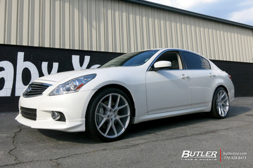 Infiniti G37 with 20in Savini BM14 Wheels
