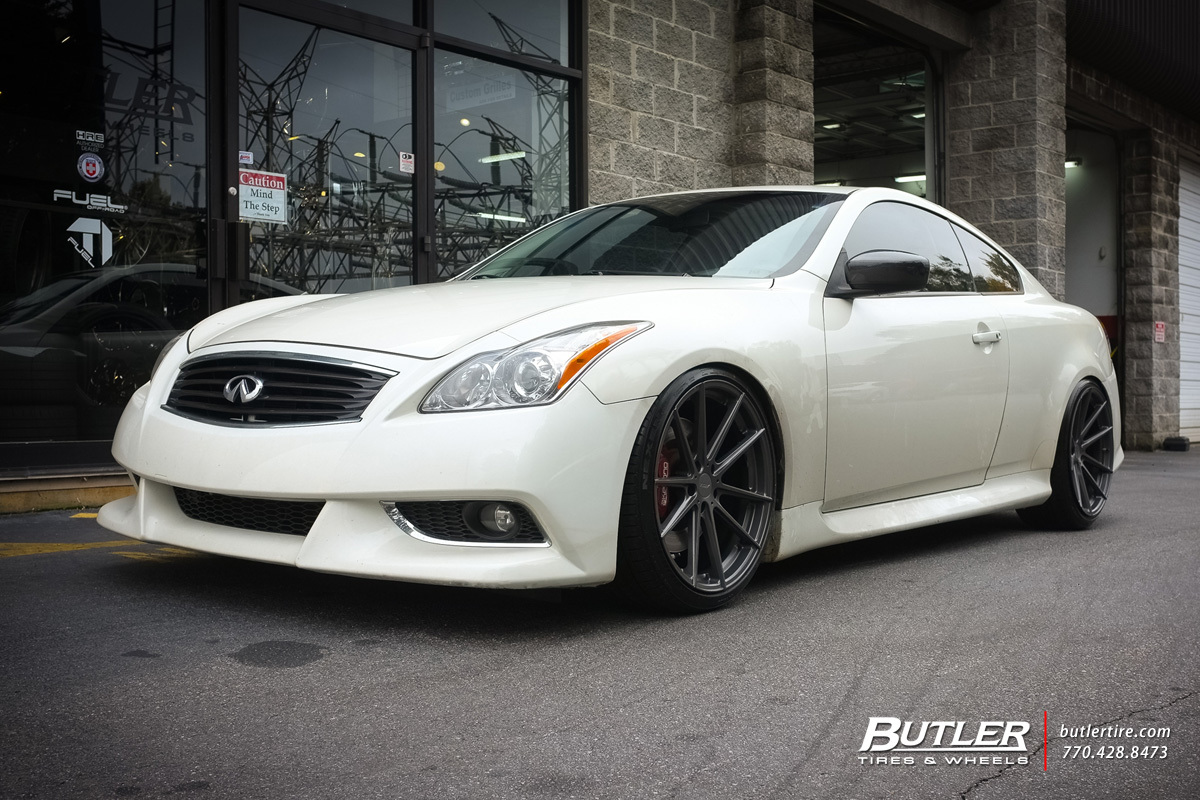 Infiniti G37 with 20in TSW Bathurst Wheels