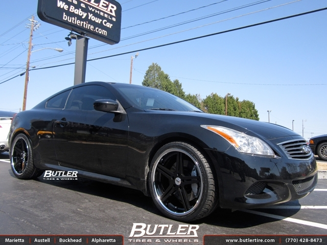 Infiniti G37 with 20in TSW Mirabeau Wheels