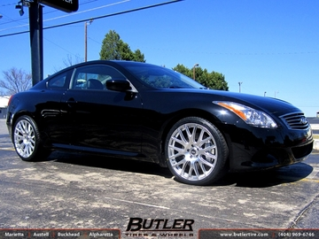 Infiniti G37 with 20in TSW Mugello Wheels