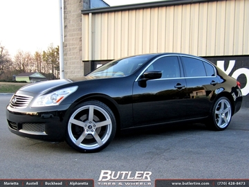 Infiniti G37 with 20in TSW Panorama Wheels