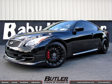 Infiniti G37s with 19in TSW Mallory Wheels