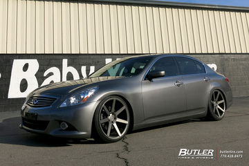 Infiniti M37 with 20in Niche Verona Wheels