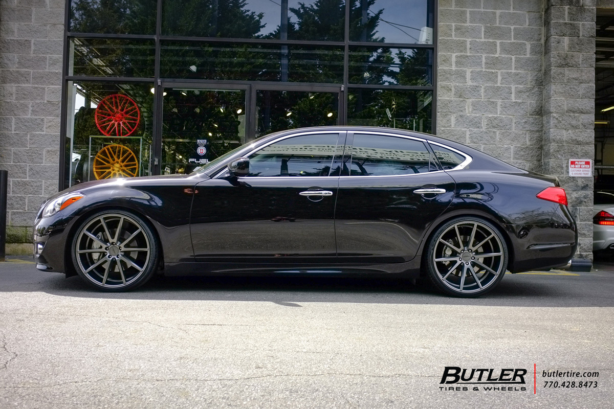 Infiniti M37 With 22in Vossen Vfs1 Wheels Exclusively From Butler Tires And Wheels In Atlanta