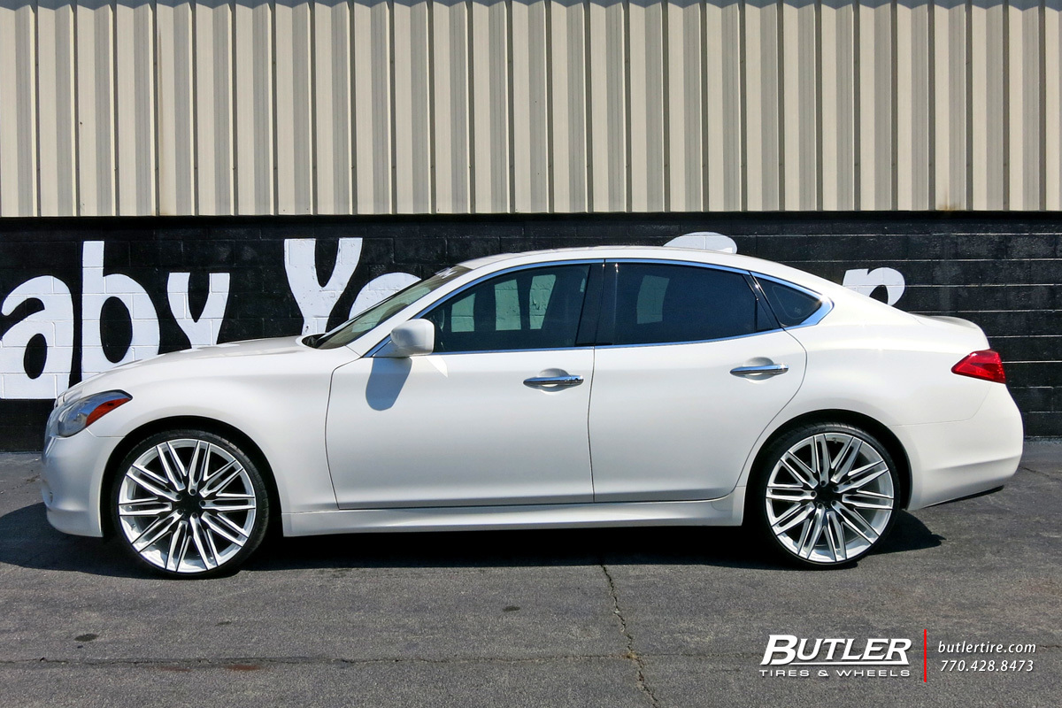 Infiniti M With In Niche Anzio Wheels Extra Large