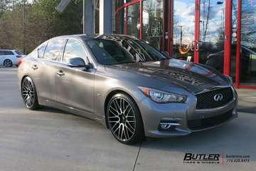 Infiniti Q50 with 20in Savini BM13 Wheels