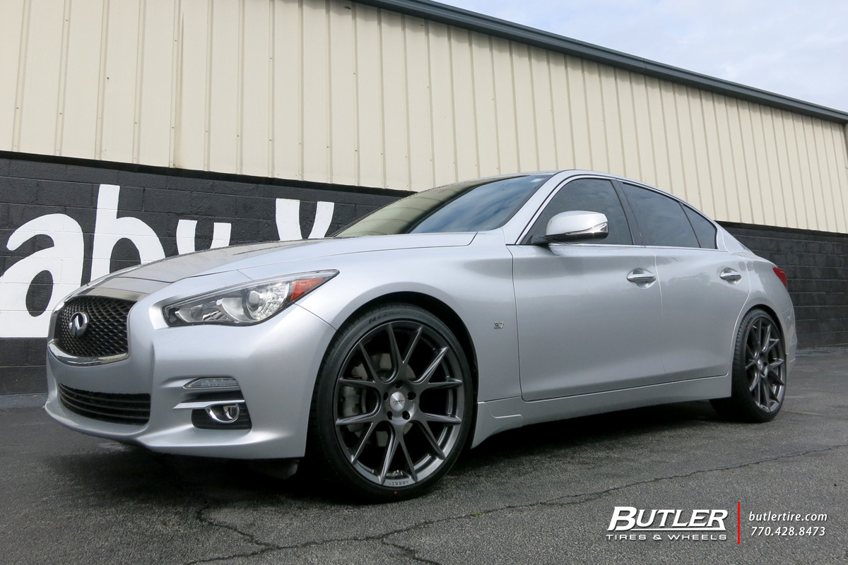 Infiniti Q50 With 20in Vossen Vfs6 Wheels Exclusively From