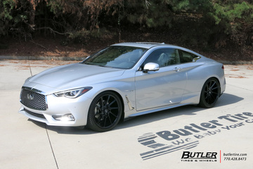 Infiniti Q60 Coupe with 20in Savini BM15 Wheels