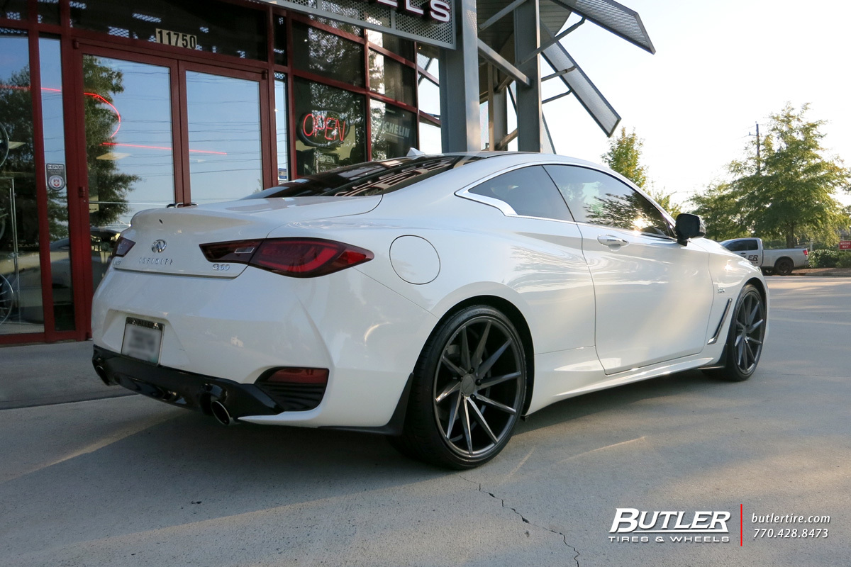 Infiniti Q60 Coupe With 20in Vossen Cvt Wheels Exclusively