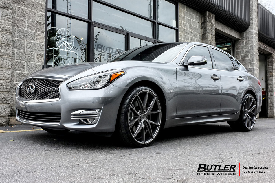 Infiniti Q70 with 22in Niche Misano Wheels exclusively ...