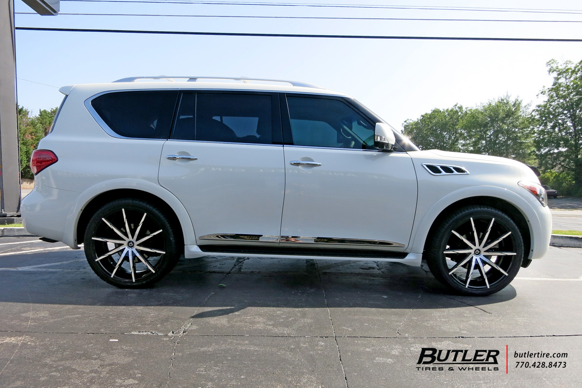 Infiniti qx56 with 24in lexani css15 wheels exclusively from infiniti qx56 with 24in lexani css15 wheels vanachro Choice Image