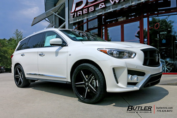 Infiniti QX60 with 20in Lexani R-Three Wheels