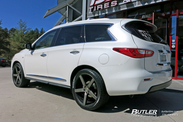 Infiniti QX60 with 22in Niche Milan Wheels