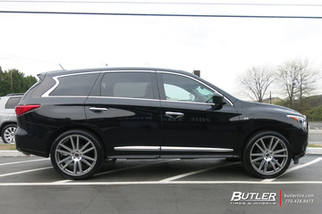 Infiniti QX60 with 22in TSW Gatsby Wheels
