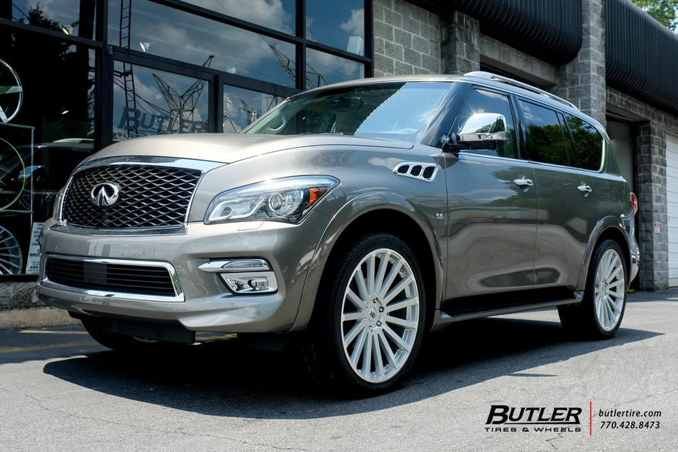 Struts And Shocks >> Infiniti QX80 with 24in Black Rhino Spear Wheels exclusively from Butler Tires and Wheels in ...