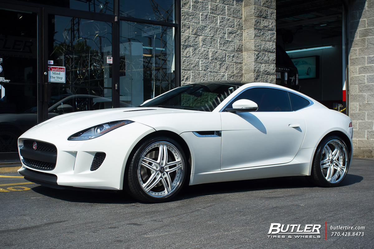 Jaguar F-Type with 20in DUB C-16 Wheels