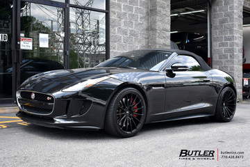 Jaguar F-Type with 20in Savini BM16 Wheels