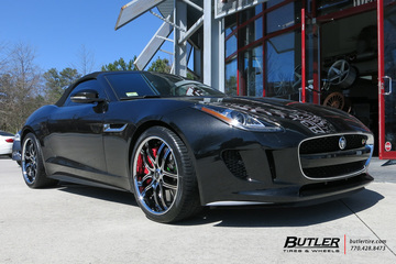 Jaguar F-Type with 20in Savini BS2 Wheels