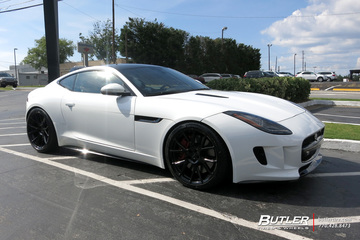 Jaguar F-Type with 20in Vossen VFS6 Wheels
