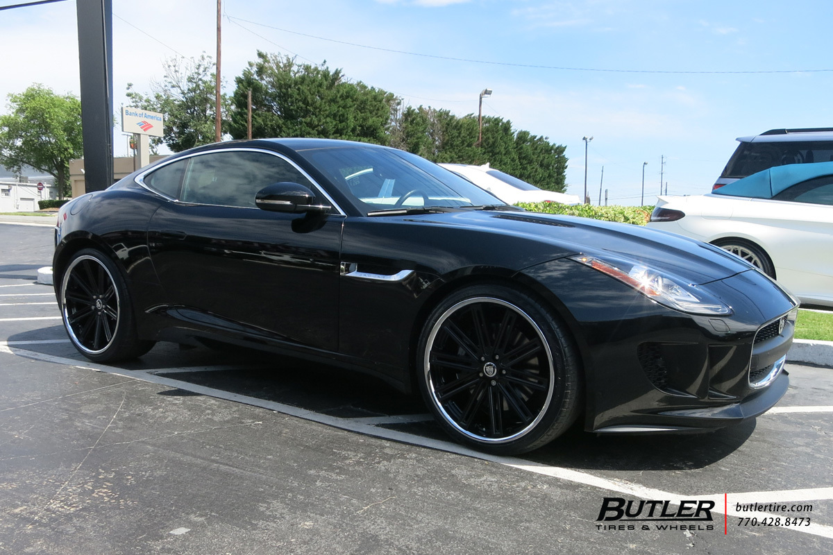 Infiniti Of Warwick >> Jaguar F-Type with 21in Coventry Warwick Wheels exclusively from Butler Tires and Wheels in ...