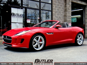 Jaguar F-Type with 20in Coventry Hornet Wheels