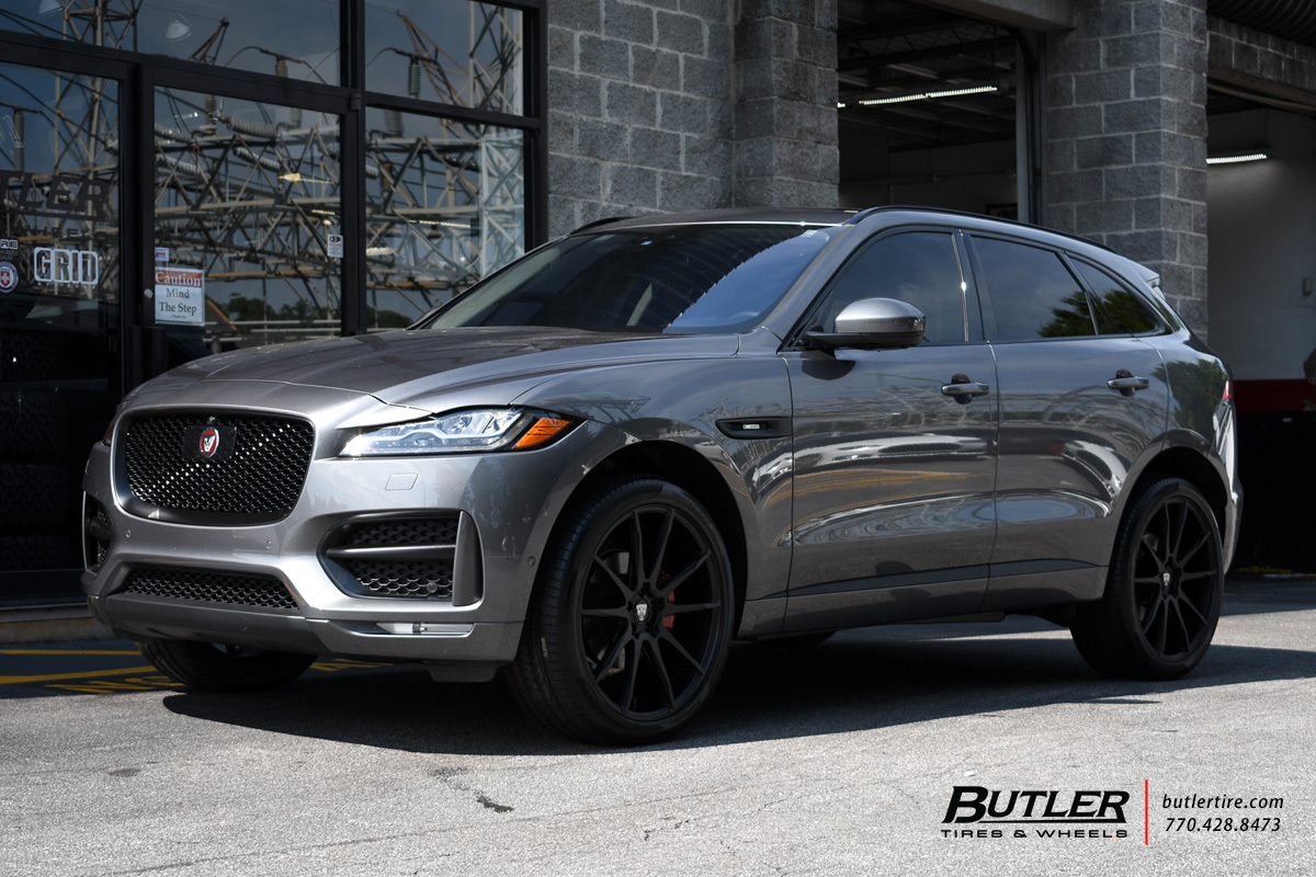 Jaguar F Pace with 22in Savini BM12 Wheels