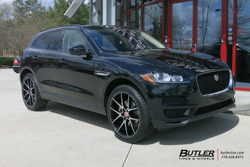 Jaguar F Pace with 22in Savini BM14 Wheels