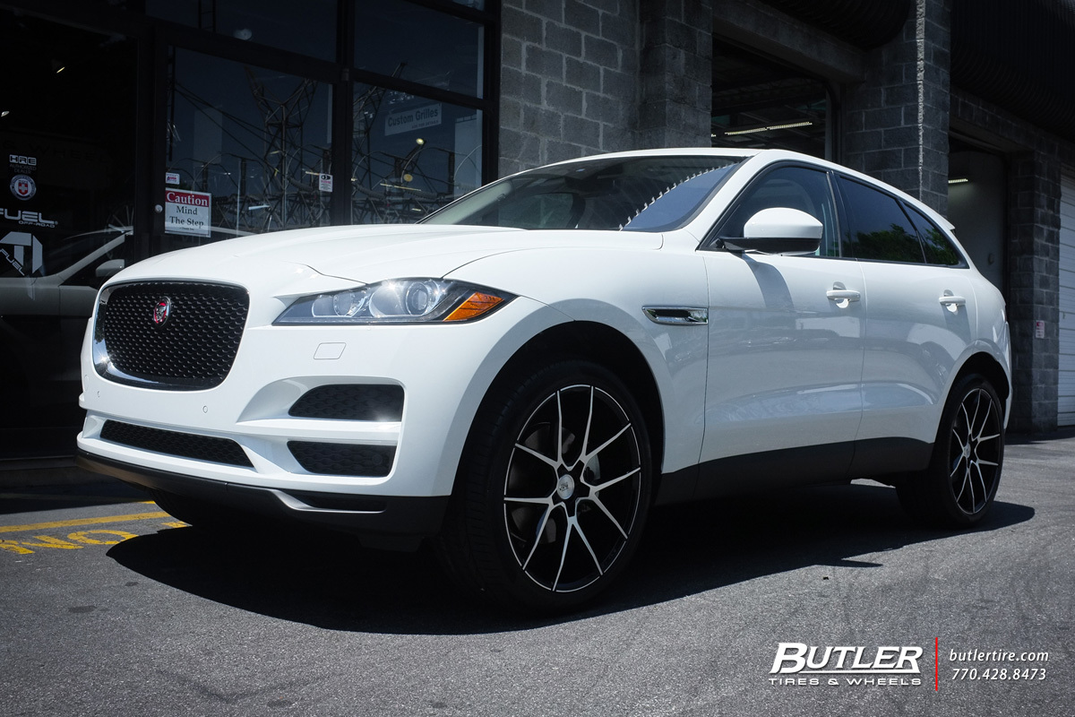 jaguar f pace with 22in savini bm14 wheels exclusively from butler tires and wheels in atlanta. Black Bedroom Furniture Sets. Home Design Ideas