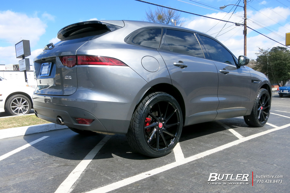 Jaguar F Pace with 22in Savini BM15 Wheels