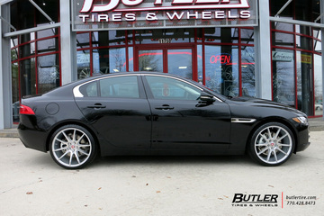 Jaguar XE with 20in Savini BM12 Wheels