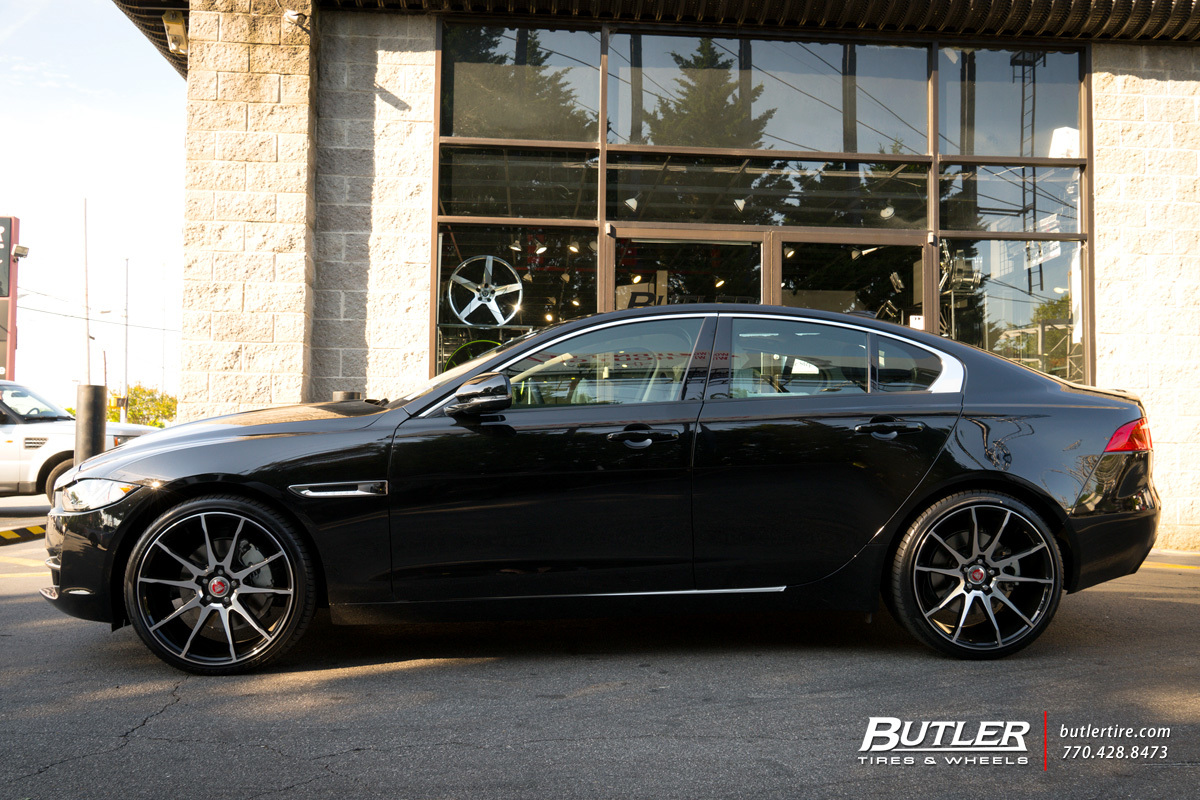 Jaguar Xe With 20in Savini Bm12 Wheels Exclusively From