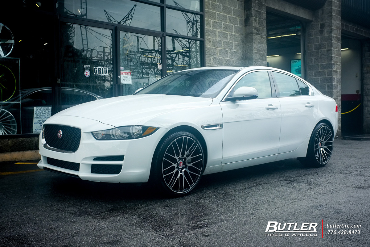 Jaguar XE with 20in Savini BM13 Wheels