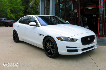 Jaguar XE with 20in Savini BM14 Wheels