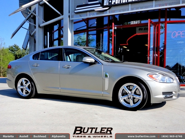 Jaguar XF with 18in Coventry Hornet Wheels