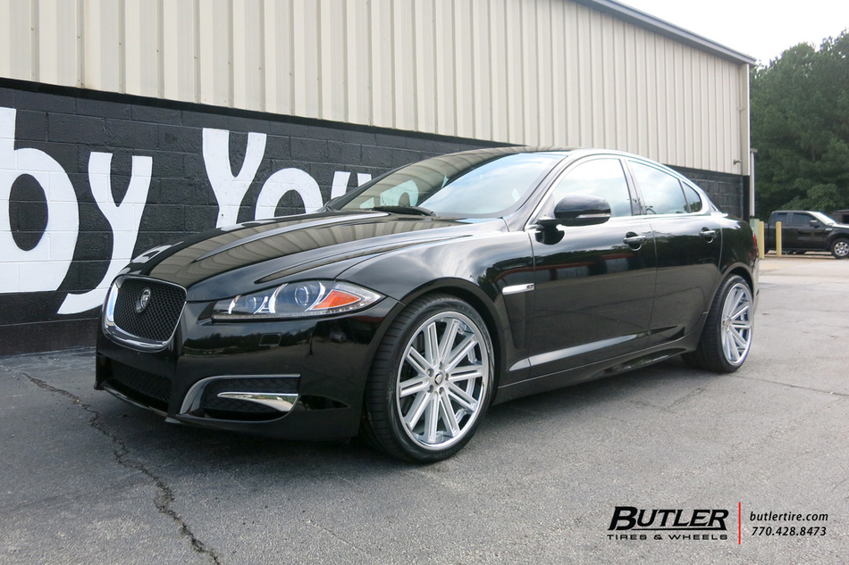 Jaguar Xf With 20in Coventry Warwick Wheels Exclusively