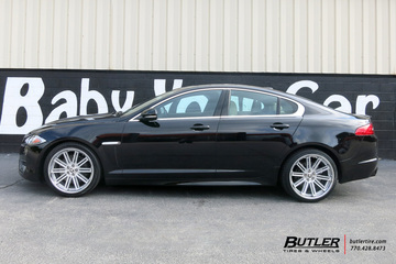 Infiniti Of Warwick >> Jaguar XF with 20in Coventry Warwick Wheels exclusively from Butler Tires and Wheels in Atlanta ...