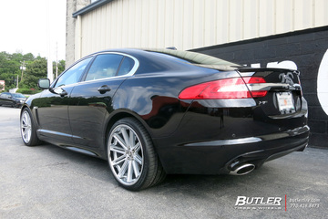 Jaguar XF with 20in Coventry Warwick Wheels
