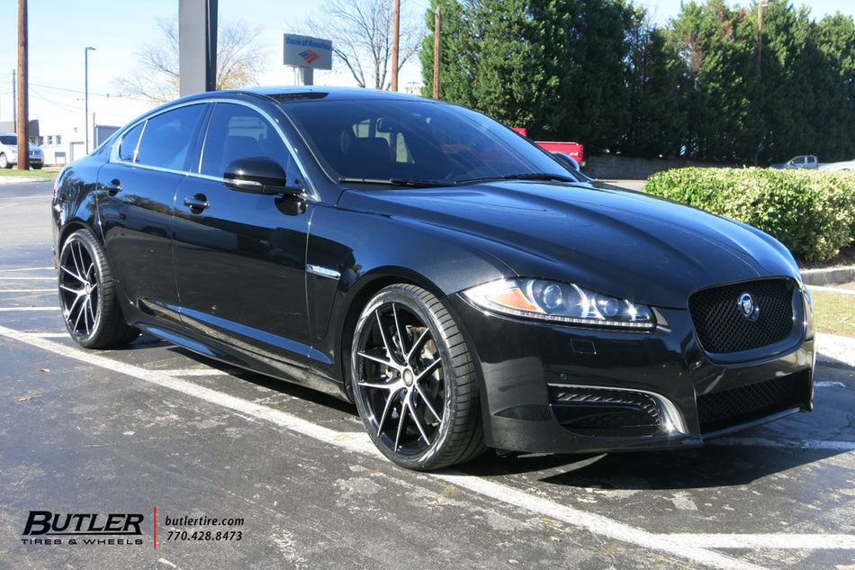 Jaguar XF with 20in Niche Targa Wheels exclusively from Butler Tires and Wheels in Atlanta, GA ...