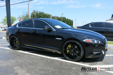 Jaguar XF with 22in Savini BM14 Wheels