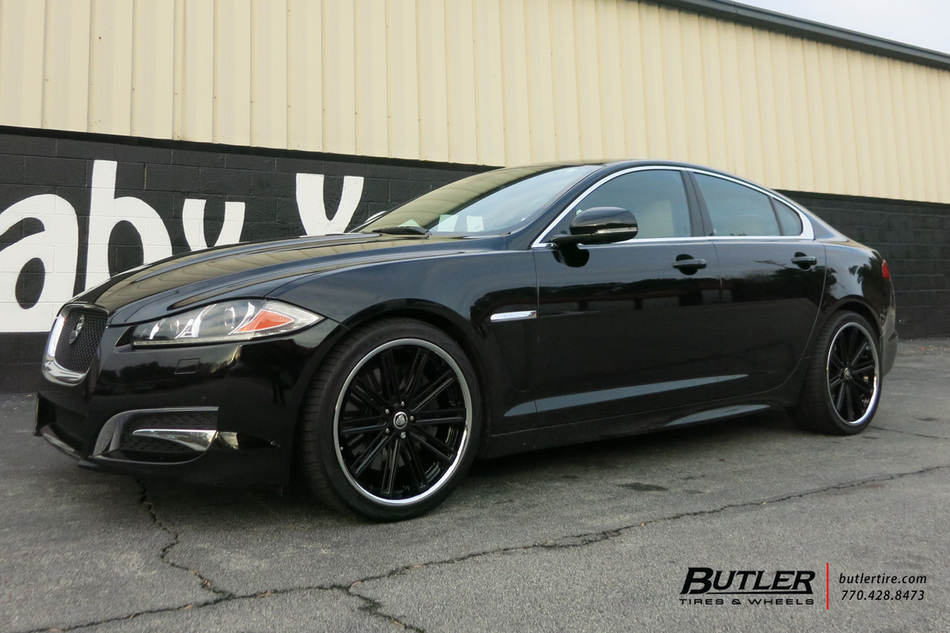 Acura Of Warwick >> Jaguar XJ with 20in Coventry Warwick Wheels exclusively from Butler Tires and Wheels in Atlanta ...