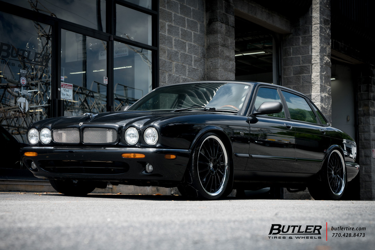 Jaguar XJ with 20in Coventry Whitley Wheels
