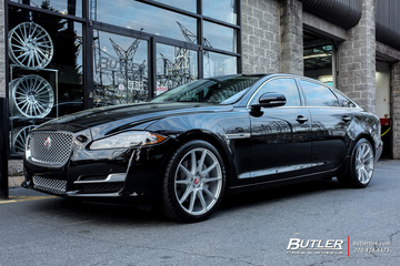 Jaguar XJ with 20in Savini BM12 Wheels
