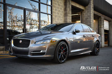 Jaguar XJ with 20in Savini BM14 Wheels
