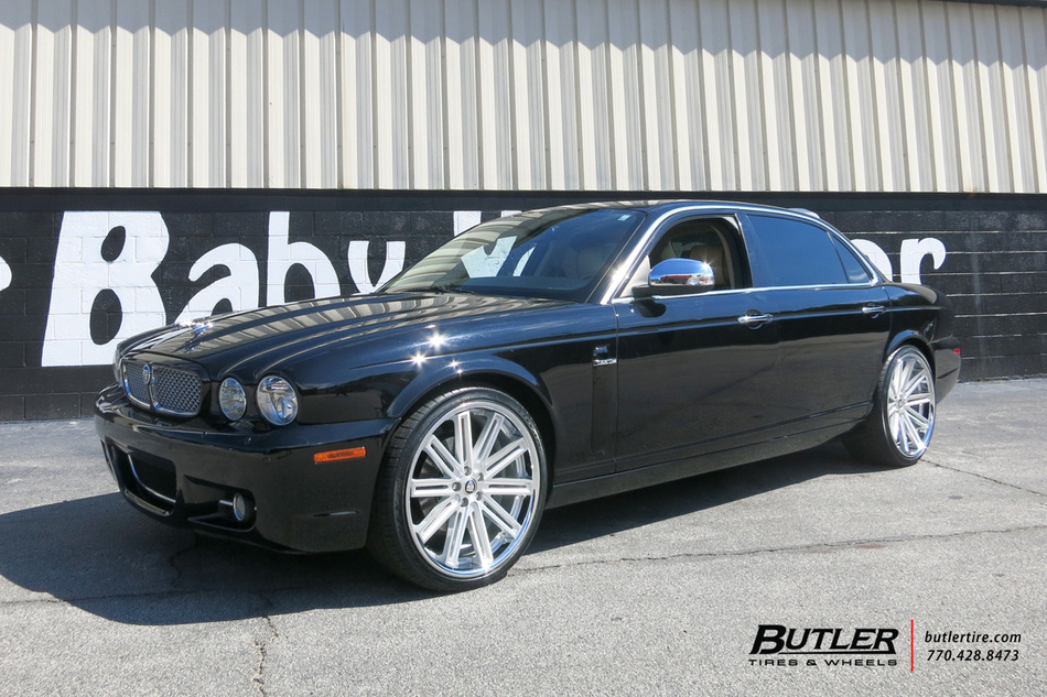Lexus Of Atlanta >> Jaguar XJ with 21in Coventry Warwick Wheels exclusively ...