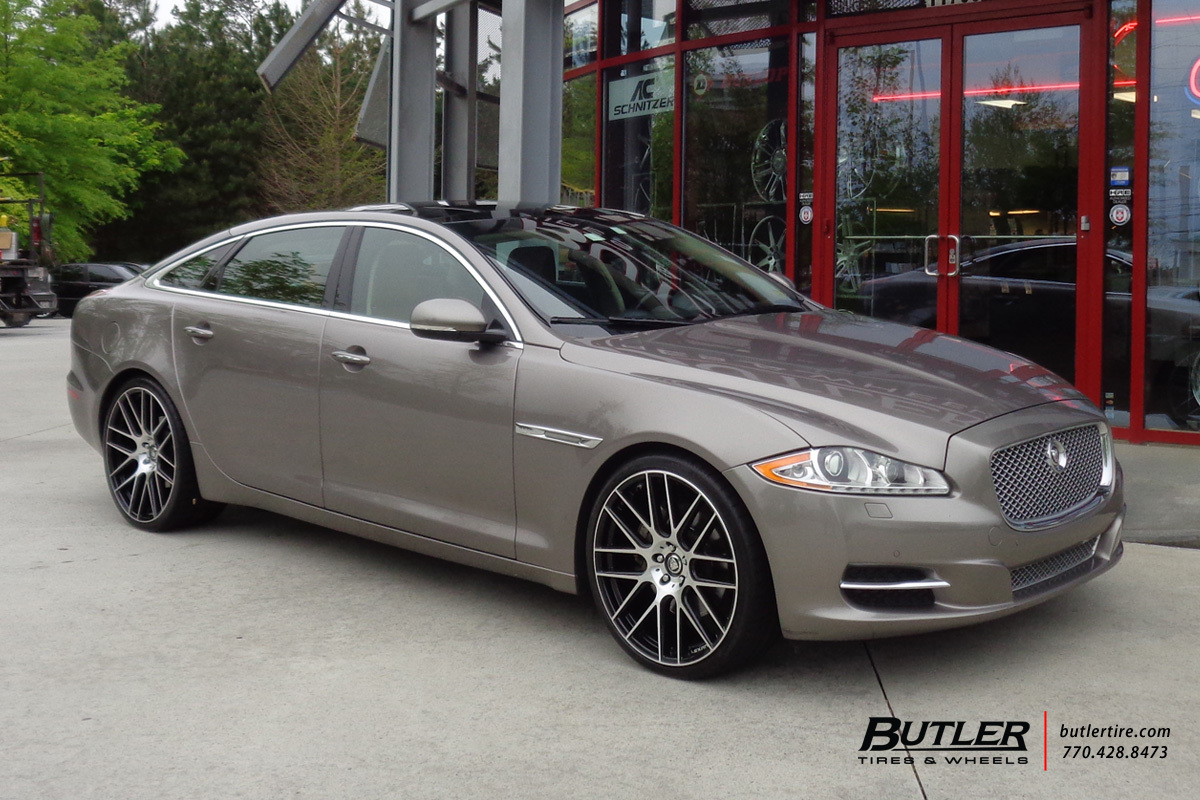 Jaguar XJ with 22in Lexani CSS8 Wheels