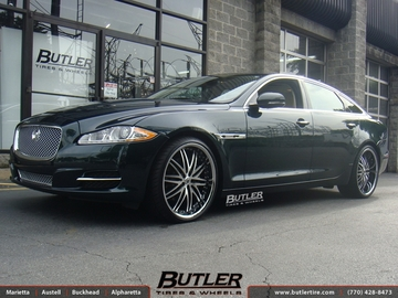 Jaguar XJ with 22in Lexani LX10 Wheels